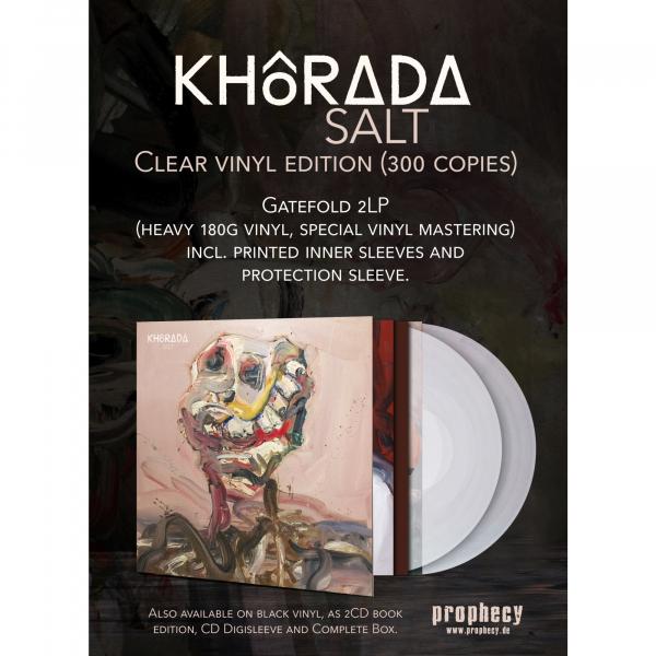 Khôrada - Salt Vinyl 2-LP Gatefold | Clear
