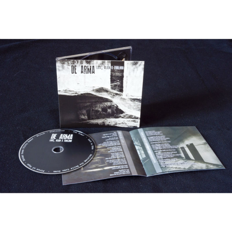 De Arma - Lost, Alien & Forlorn CD Digipak