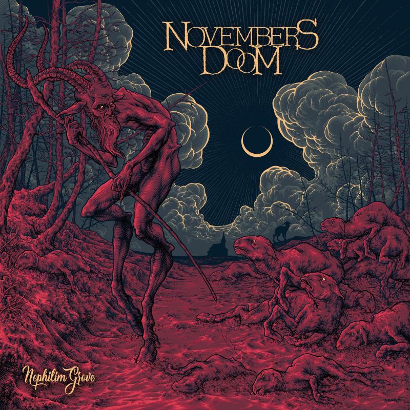 Novembers Doom - Nephilim Grove Vinyl 2-LP Gatefold     Red