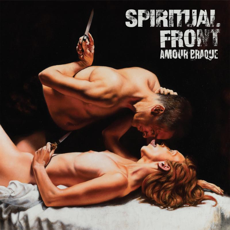 Spiritual Front - Amour Braque Vinyl Gatefold LP     black