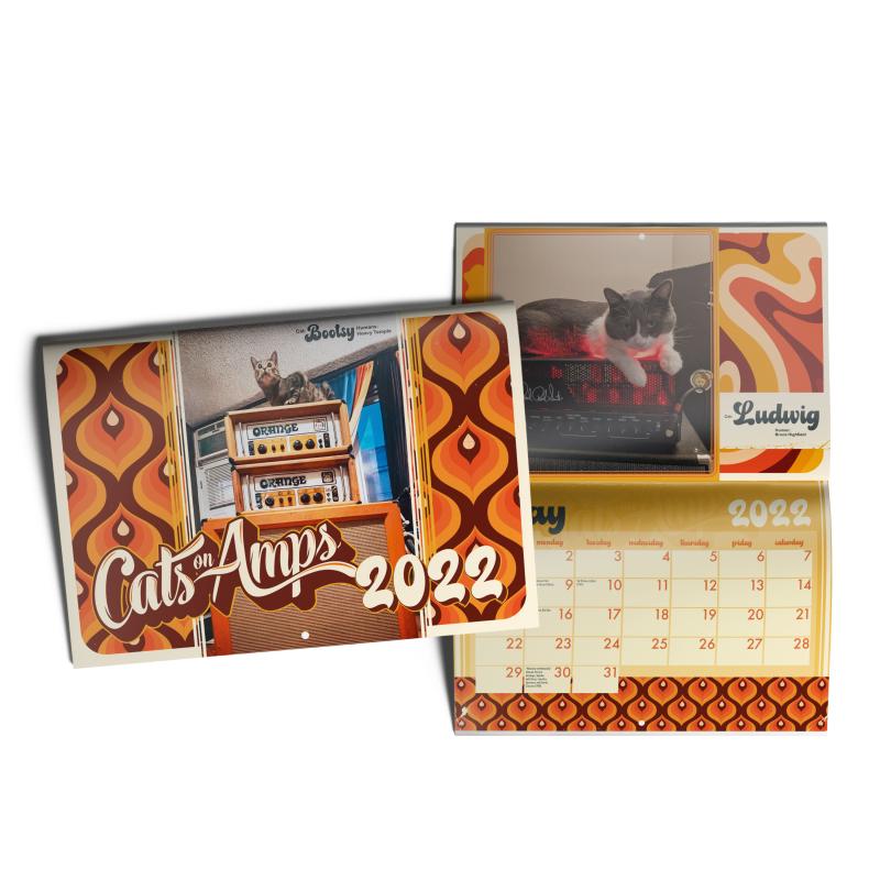 Cats On Amps - Calendar 2022 Calendar