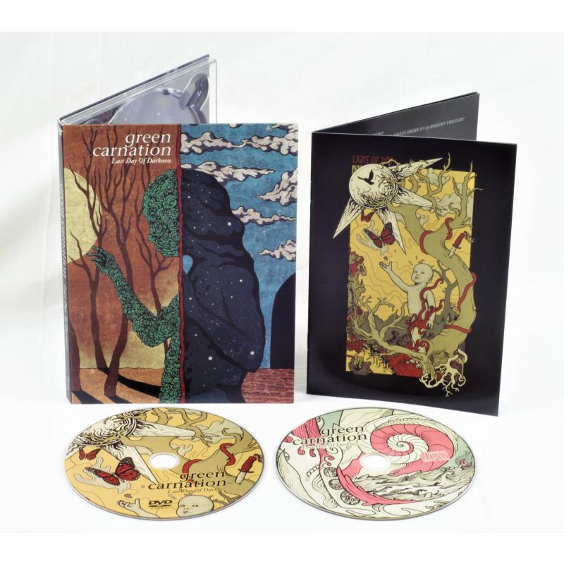 Green Carnation - Last Day Of Darkness DVD+CD Digipak