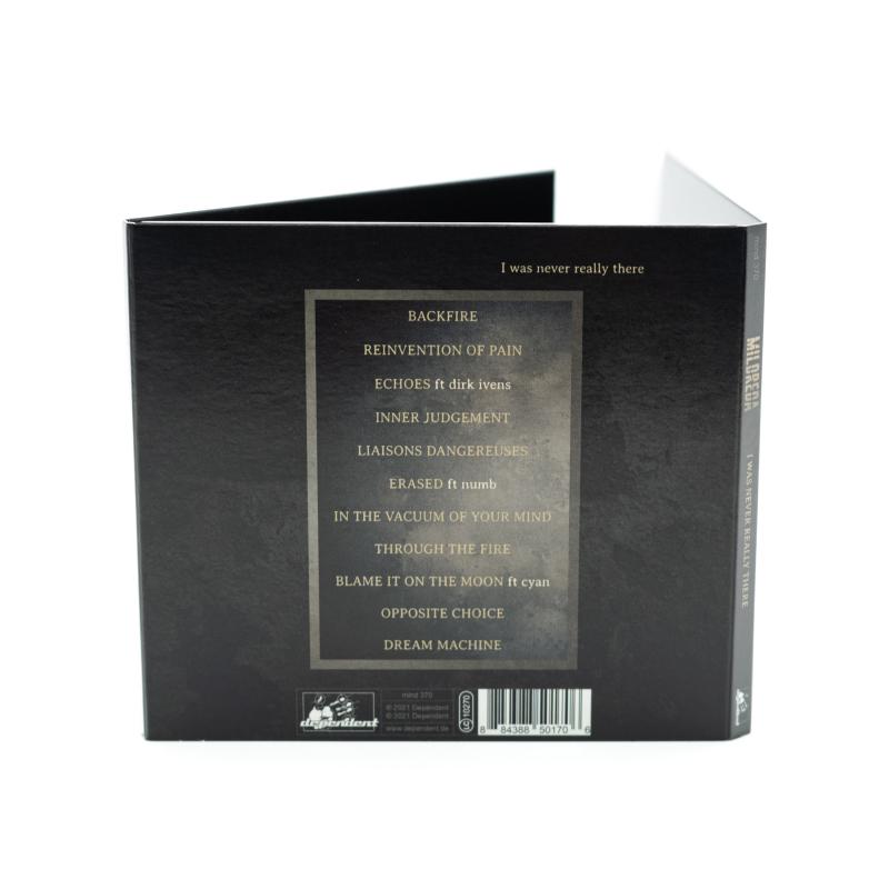 Mildreda - I Was Never Really There CD Digipak