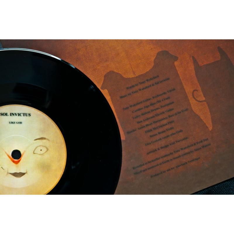 """Sol Invictus - Mr Cruel Vinyl 7""""     black"""