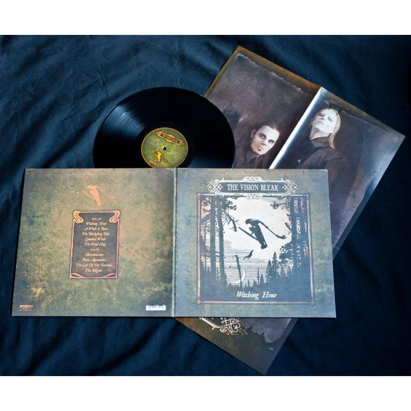The Vision Bleak - Witching Hour Vinyl Gatefold LP     Black