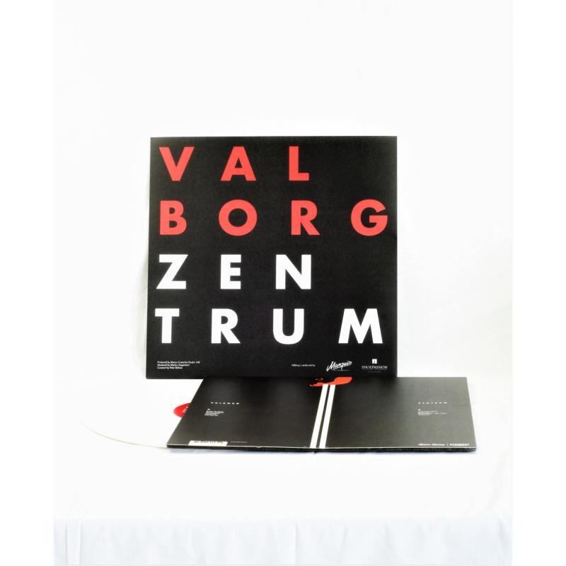 Valborg - Zentrum Vinyl LP  |  White