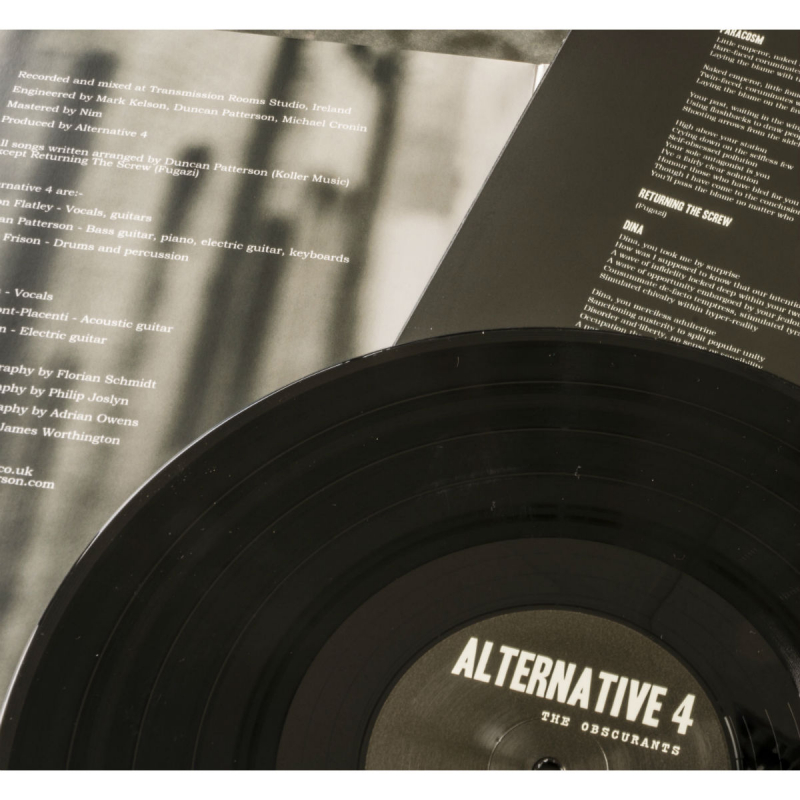 Alternative 4 - The Obscurants Vinyl Gatefold LP  |  black