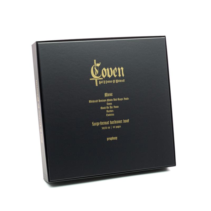 Coven - Half A Century Of Witchcraft Vinyl Box     Black
